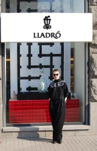 Katja Bereznitsky - designer of shop window